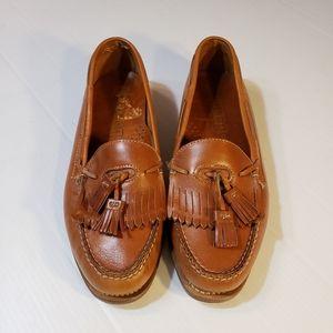 Dexter Leather Kiltie Tassel Loafers sz 11M